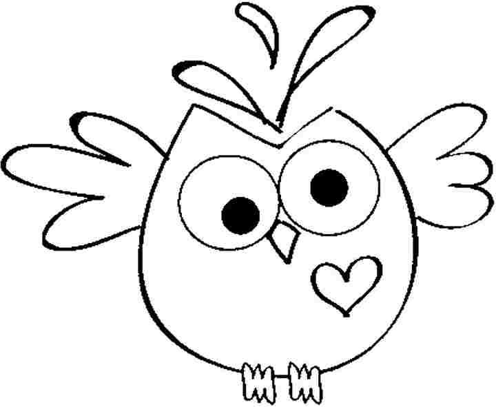Owl printable, Colouring pages and Preschool on Pinterest