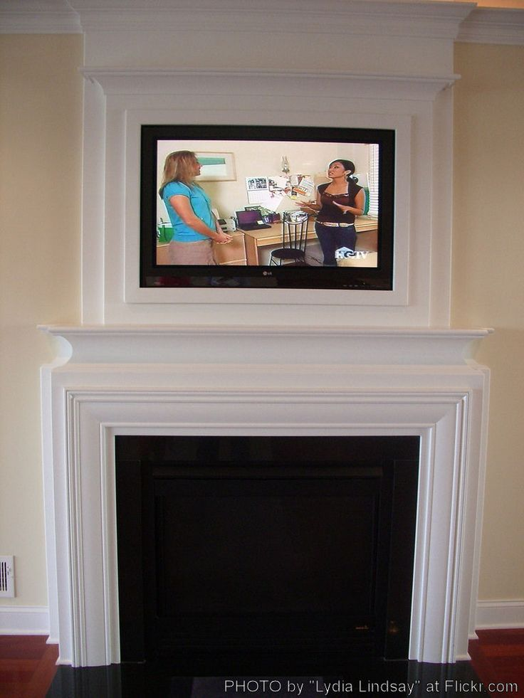 Corner Flat Electric Fireplace Corner Fireplace Mantel With Tv Above - Woodworking