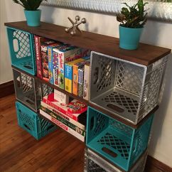 Desk Chair Seat Covers Patio Lounge Chairs Canada 25 Best Images About Milk Crate Furniture On Pinterest! | Storage Ideas, ...