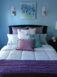 1000+ ideas about Blue Purple Bedroom on Pinterest | Girl ...