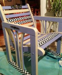 43 best images about Painted child's chair with artistic ...