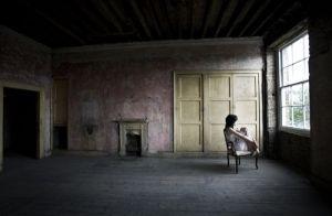 yellow empty mental cure rest asylum background weir mitchell artist depression health