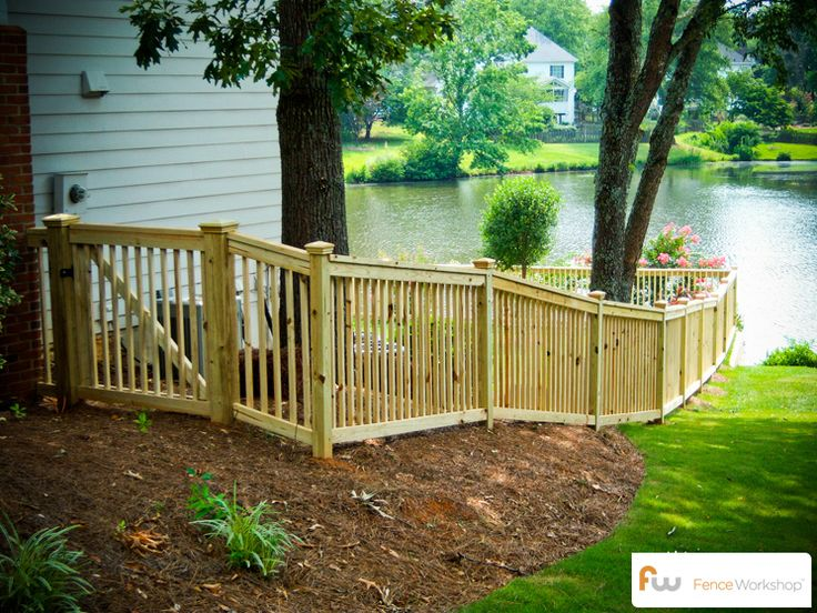 17 Best images about Traditional Picket Fences on