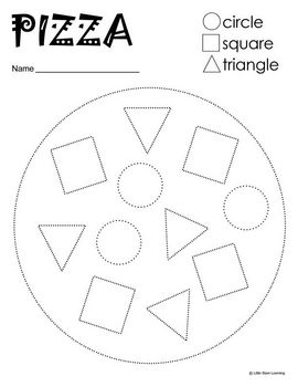 Pizza Recipe Pictogram Worksheets For Preschool. Pizza