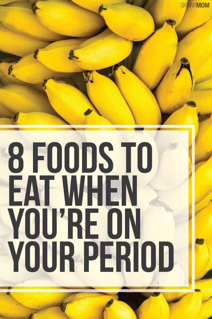 These foods will help relieve period symptoms.