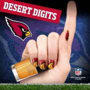 arizona cardinals #nailart pin