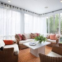 25+ best ideas about Sunroom curtains on Pinterest ...
