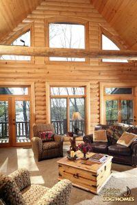 Best 25+ Log home decorating ideas on Pinterest | Log home ...