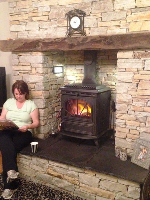 25+ best ideas about Wood stove surround on Pinterest
