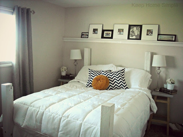 Keep Home Simple Redecorating Our Masterbedroom on a Small Budget  House and Home  Pinterest