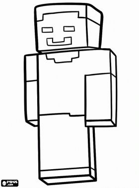 Herobrine, one of the icons of the Minecraft community