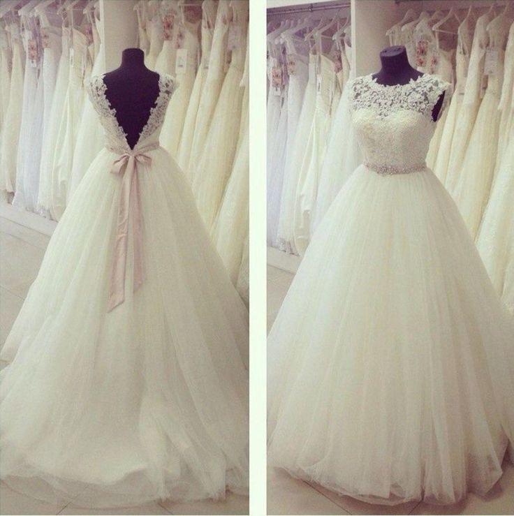 Die 25 Besten Ideen Zu Tüll Hochzeitskleider Auf Pinterest