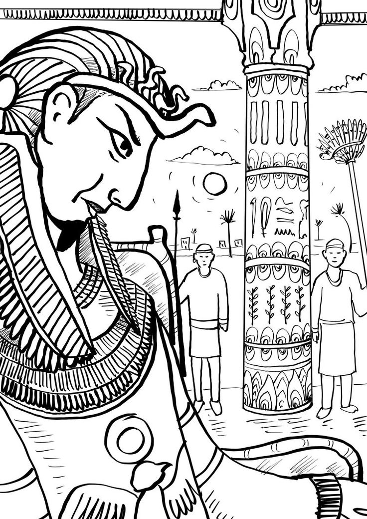11 best images about Exodus Coloring Pages on Pinterest