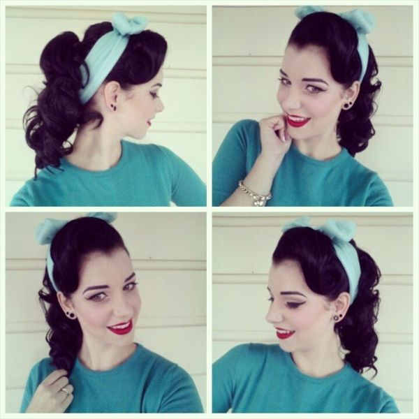 25 best ideas about 1950s Ponytail on Pinterest 1950s