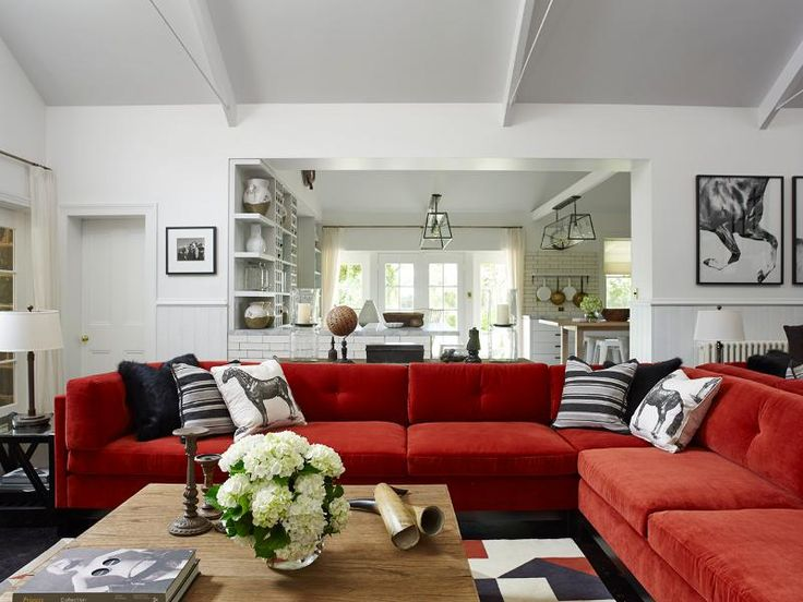 25+ best ideas about Red Sofa on Pinterest