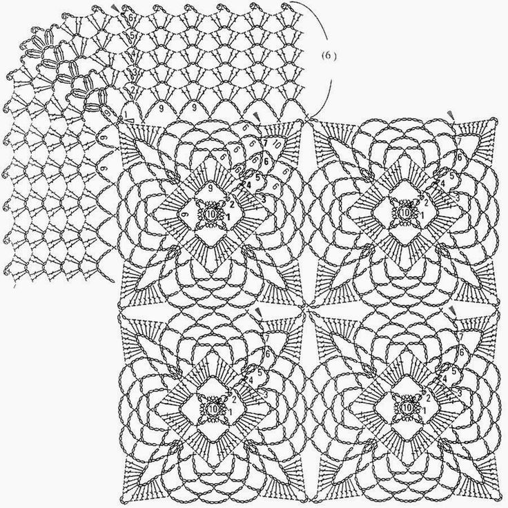 1000+ images about CROCHET DOILIES TABLECLOTHS RUNNERS