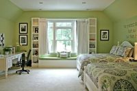 Girls Bedroom window seat & bookshelf | Next {dream} Home ...