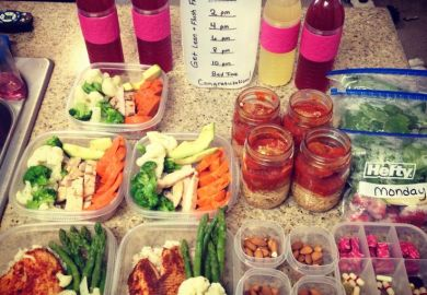 Weekly Meal Prep For Fitness