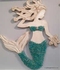 25+ unique Mermaid wall art ideas on Pinterest | Little ...