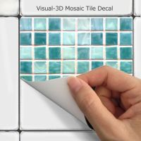 Wall Tile Decals Vinyl Sticker WATERPROOF Tile or ...