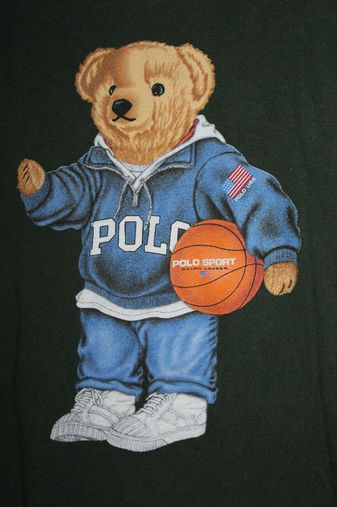 Ralph Lauren Iphone Wallpaper Polo Bear T Shirt Ralph Lauren Teddy Green Basketball Usa