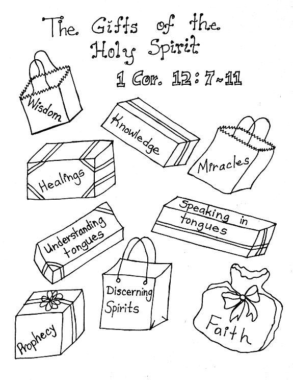 Gifts Of The Holy Spirit Catholic Activities