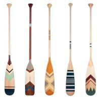 1000+ ideas about Painted Oars on Pinterest   Canoe ...