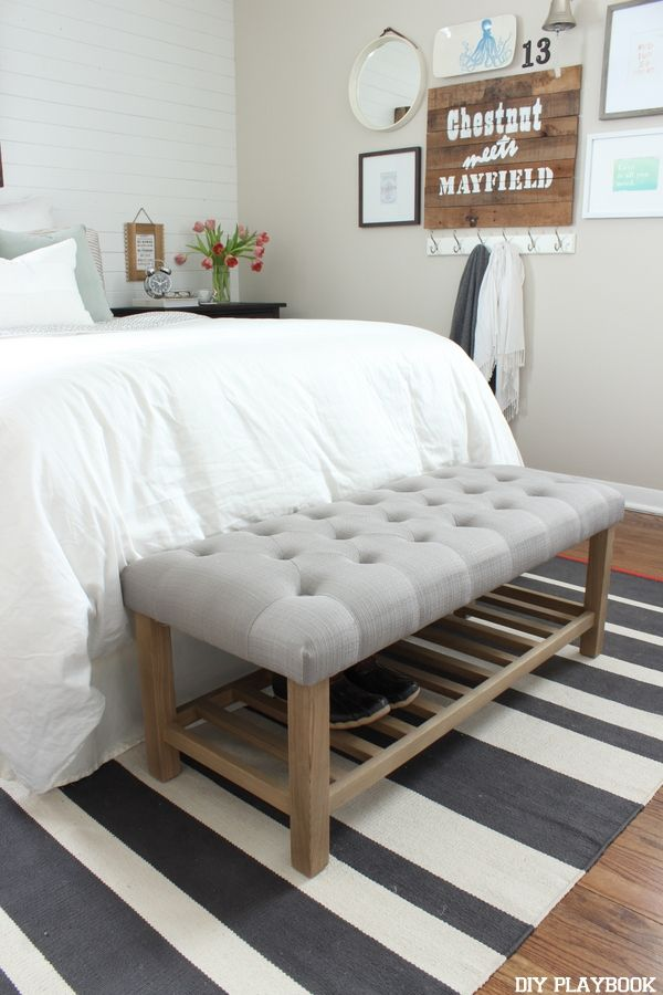 17 Best ideas about Bedroom Benches on Pinterest  Bed