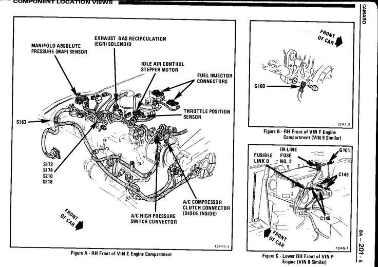 98 camaro fuel pump wiring diagram