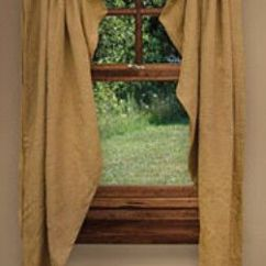Country Cottage Living Room Decor Ideas Brown Settee Farmhouse Chic, Window Curtains And On ...