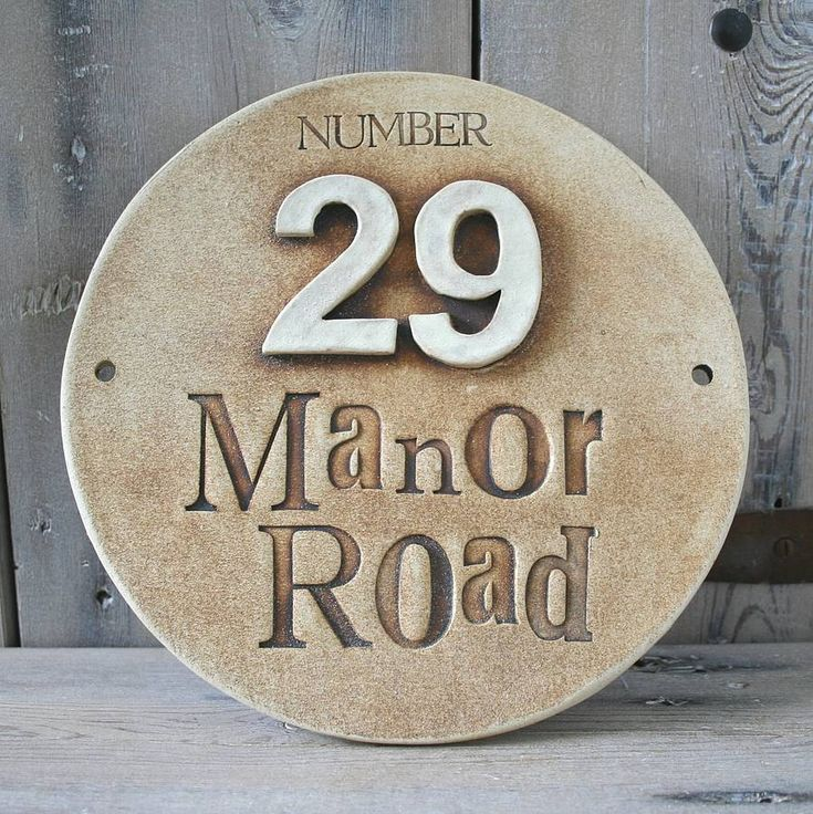 25 Best Ideas About Ceramic House Numbers On Pinterest Clay