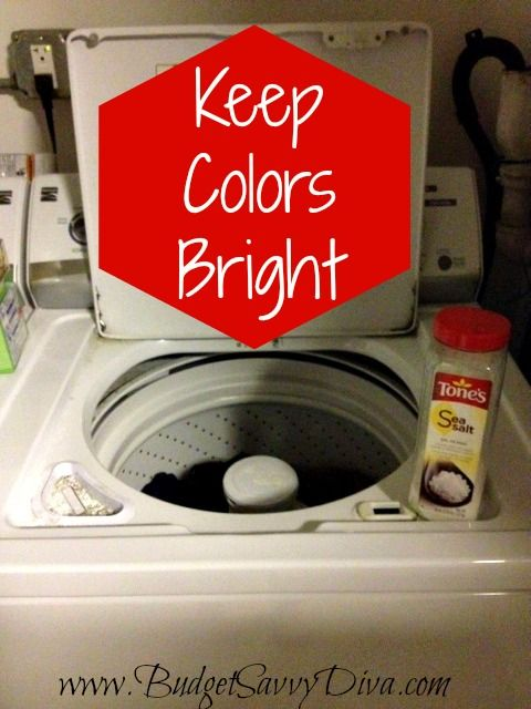 Keep Colors Bright In The Washing Machine  Budget Tips