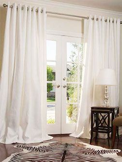 French doors Curtains and Doors on Pinterest