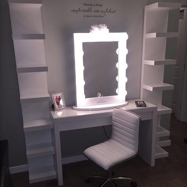 25 best ideas about Ikea Makeup Vanity on Pinterest