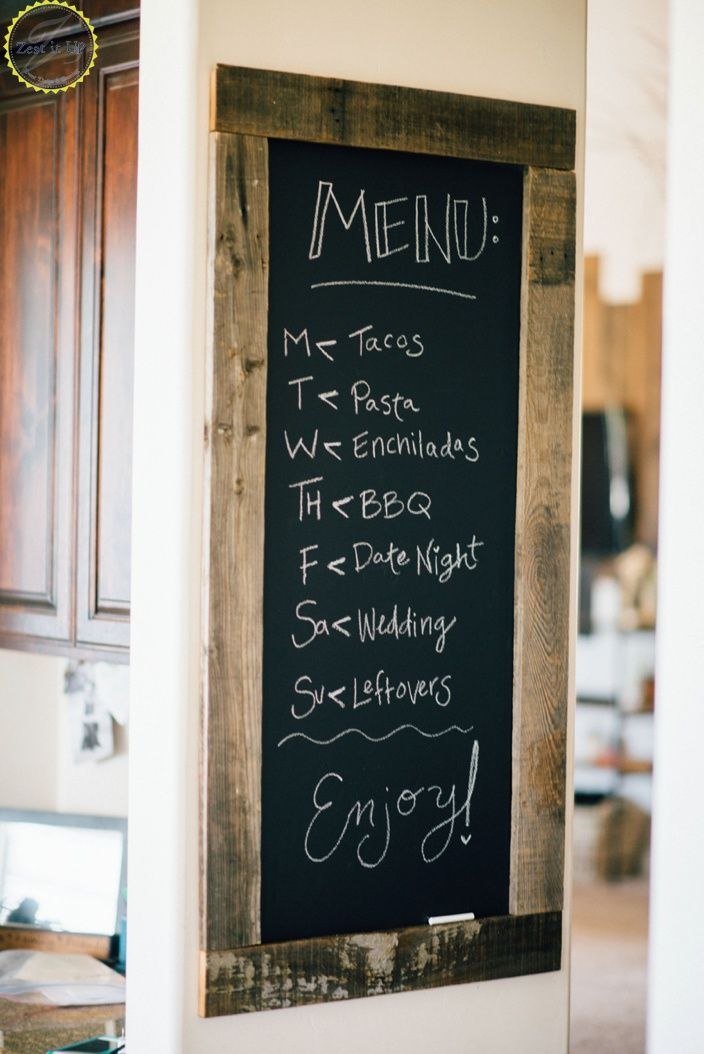 25+ best ideas about Kitchen chalkboard walls on Pinterest