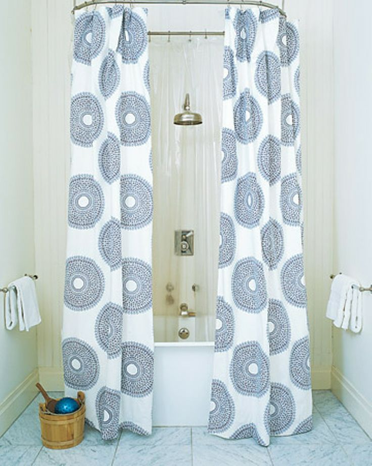 10 images about Extra Long Shower Curtain on Pinterest  Toothbrush holders Hotel shower
