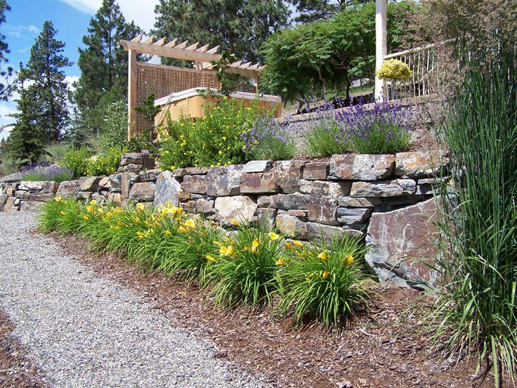 25 Best Ideas About Rock Wall Landscape On Pinterest Terraced