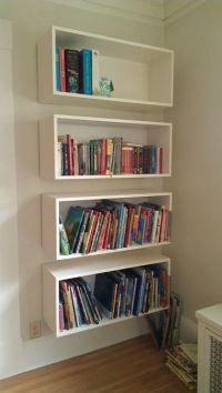 25+ best ideas about Floating bookshelves on Pinterest ...