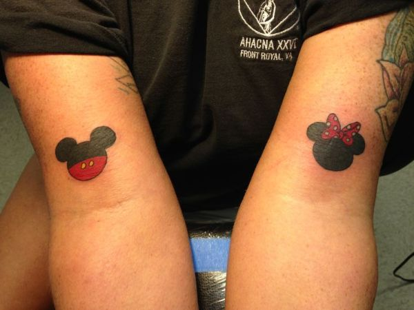 20 Minnie Mouse Matching Tattoos Ideas And Designs