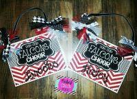 Personalized Cheer Door Signs #rebelchickdesigns # ...