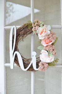 25+ Best Ideas about Summer Wreath on Pinterest   Door ...