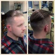 fade hairstyle pomade rockabilly