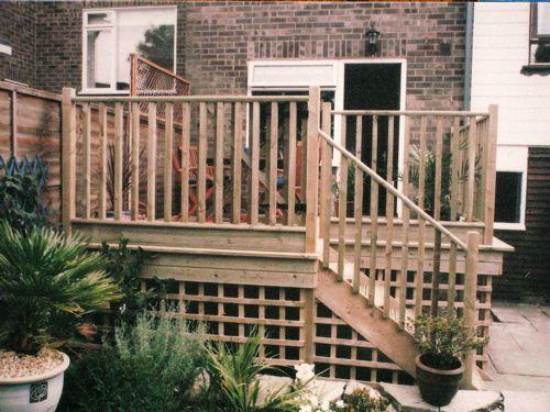 17 Best ideas about Raised Deck on Pinterest  Patio deck