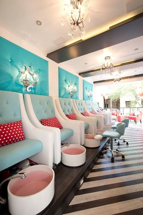 kids spa chair accent yellow and blue 25+ best ideas about nail bar on pinterest | salon design, saloon manicure station