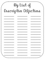 52 best images about Adjectives 2nd Grade on Pinterest