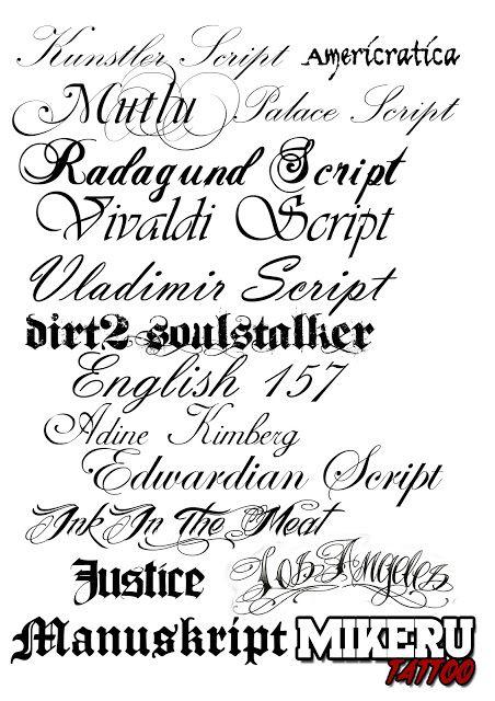 Pginas para hacer letras de tatuajes  Imagui  letras