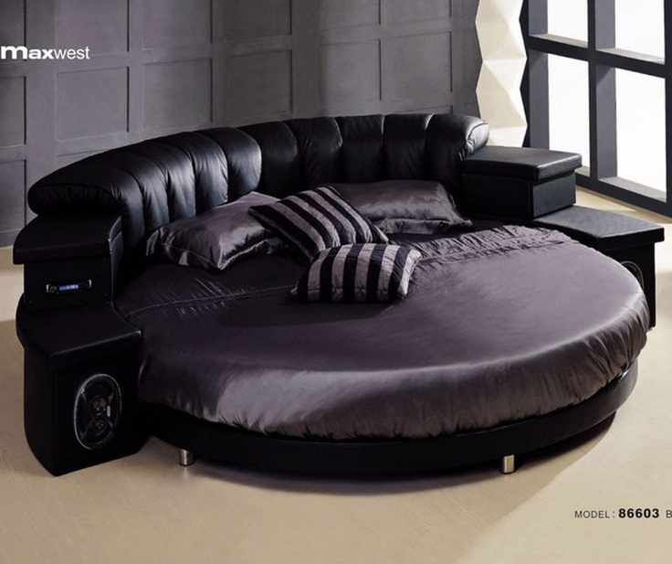 modern round sofa bed small set philippines 13 best images about circular beds - furniture on ...