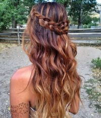 25+ best ideas about Formal hairstyles down on Pinterest ...
