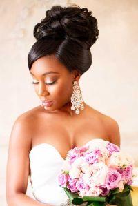 25+ best ideas about Black wedding hairstyles on Pinterest ...
