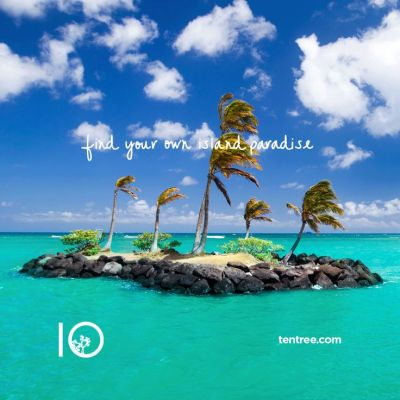 Find your own island paradise #tentree #inspire #nature ...